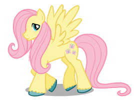 Fluttershy as a dude! by Pinkuh