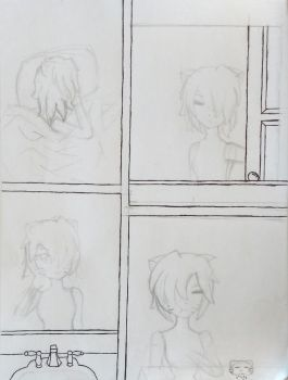 WIP- Mornings by Momo-The-Unknown