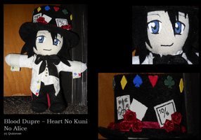 Blood Dupre Plushie by Lonely-hinata