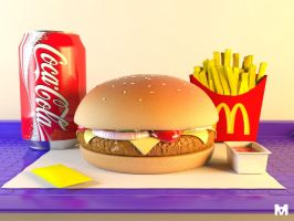 Mc Donalds 3D by Sotherby
