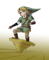 Fast, faster, Link - colored by Comic-Ray
