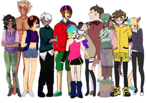 Collab: OC Group June by MrGlitter