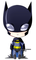 Chibi batman by NaMy-BoT