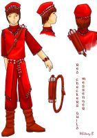 Red Checkers Guild Messenger by gowa