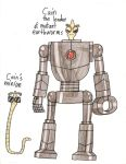 HaVTitH - Cain the leader of earthworm and minion by Magic-Kristina-KW