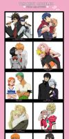 The Best Couples by Milady666
