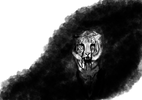Macabre Tiger by HarryForde