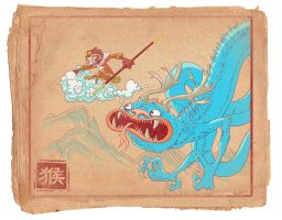 Monkey King 01 by Douglasbot
