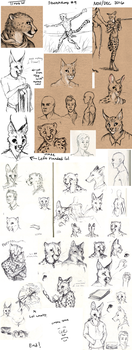 Sketchdump #9 by TitusW