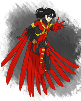 Red Robin gender bend by CassperClearie