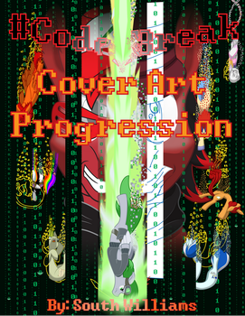 #C_B Cover Art Progression by South-Fur