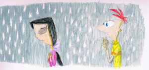 Phinabella: Between the Raindrops by Just-To-Look1