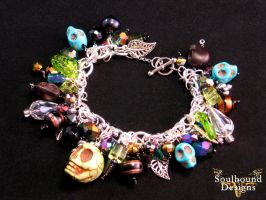 Voodoo Luck Charm Bracelet by SoulboundDesigns