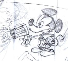 Mickey Mouse by NoPLo