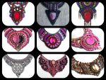 Pink Ani Jewelry Dewsigns by AniDandelion