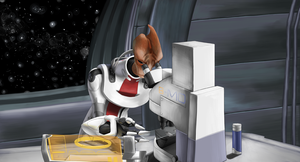 Mordin Solus by itchcrotch