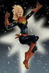 Captain Marvel by mcguan
