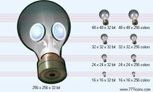 Respirator Icon by medical-icon-set