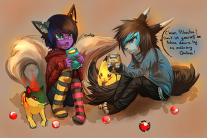 Real Pokemon Trainer by Fiuefey