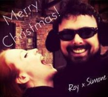 Roy and Simone: Merry Christmas ~ Icon by LunnarEclipse