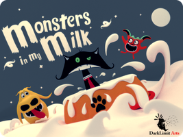 Monsters In My Milk Cover by DarkLimitArts