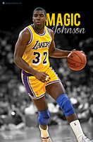 Magic Johnson by RafaelVicenteDesigns