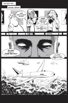 Zombie of the Month (NEW) first issue Pg 4 by Don-Kunkel