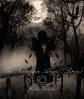 The Forgotten Angel-SEPIA by LT-Arts