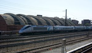Acela Express Heading North by JamesT4