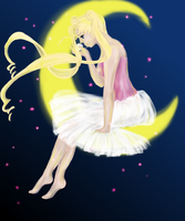 Sailor Moon_Fly me to the Moon by limonkaie