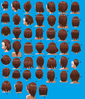 Short Hairstyles Male or Female by MMDxDespair