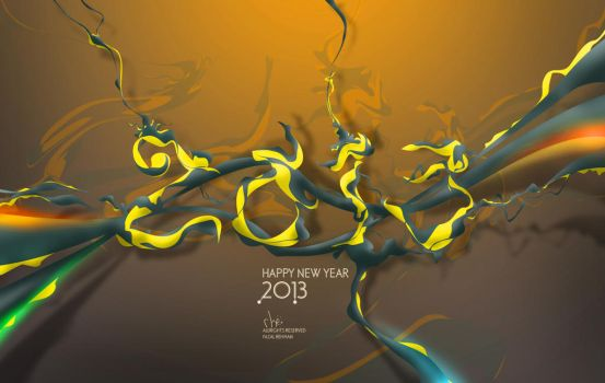 2013 New Year Wllpaper by injured-eye