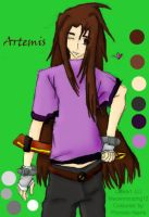 Artemis - Lineart by MeowMix by Phoneix-Faerie