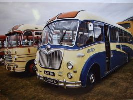classic buses  line up duxford by Sceptre63