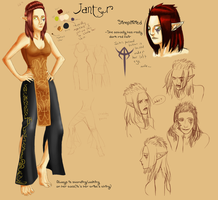 Janter reference by Gingerscoffee