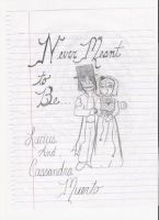 Lucius And Cassandra by xCheshireGrin228