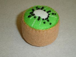 Kiwi Pin Cushion by pcmommy2b