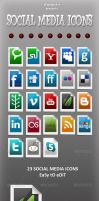 Social Media Icons by sktdesigns
