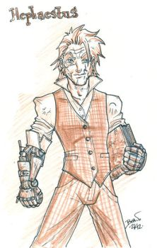 Seventh of London- Hephaestus Kildeggan Sketch. by hedbonstudios