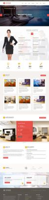 Striking Interior HTML Template Home 2 by Saptarang