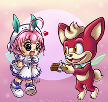 Chocolate! by SailorMoonAndSonicX