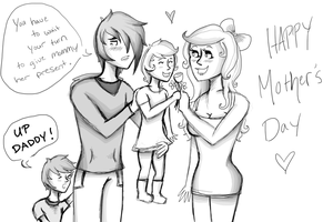 Happy Mother's Day by GrimKreaper