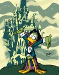 Count Duckula by BlackSnowComics