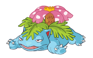 Venusaur by HappyCrumble