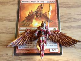 Akroma, Angel of Fury by ConserveCausality