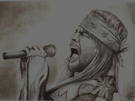 Axl Rose by Juxema