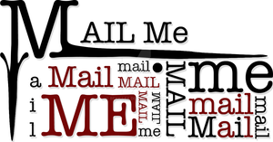 Mail Me Logo by Bexy-Lea