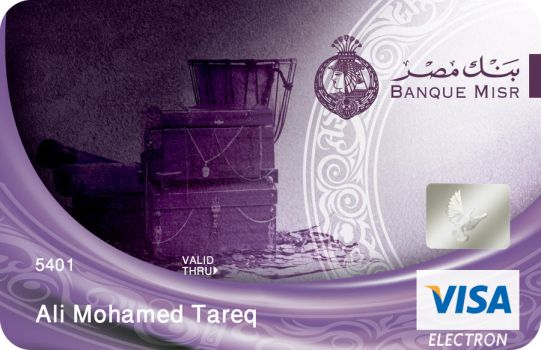 misr bank card 11 by mousallm