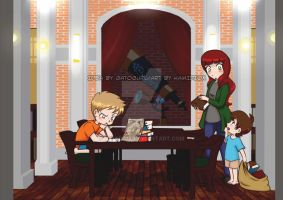 Paid Commission: The Pretender by KamiDiox