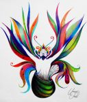 Metamorphosis - Colored pencils by f-a-d-i-l